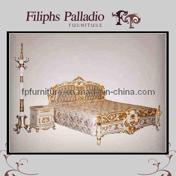 Muebles cl sicos franceses cama tallada mano antigua for Muebles franceses
