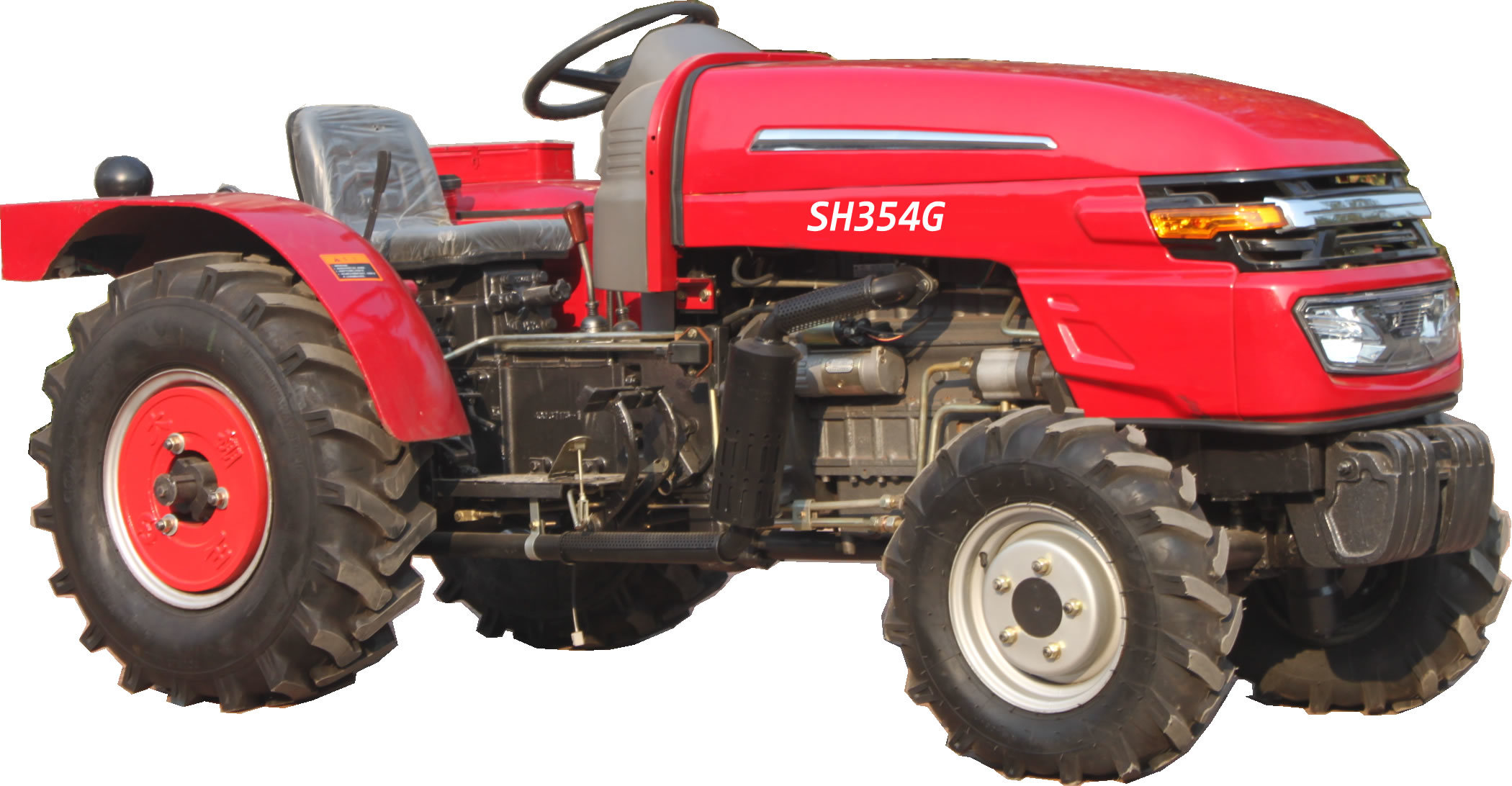 Greenhouse Tractor 4WD SH354 35HP