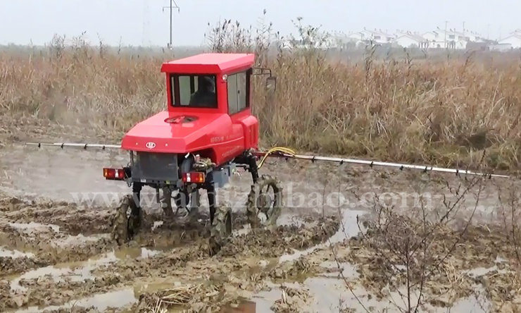 Aidi Brand Most Advanced Mist Engine Power Sprayer for Muddy Paddy Field and Farm
