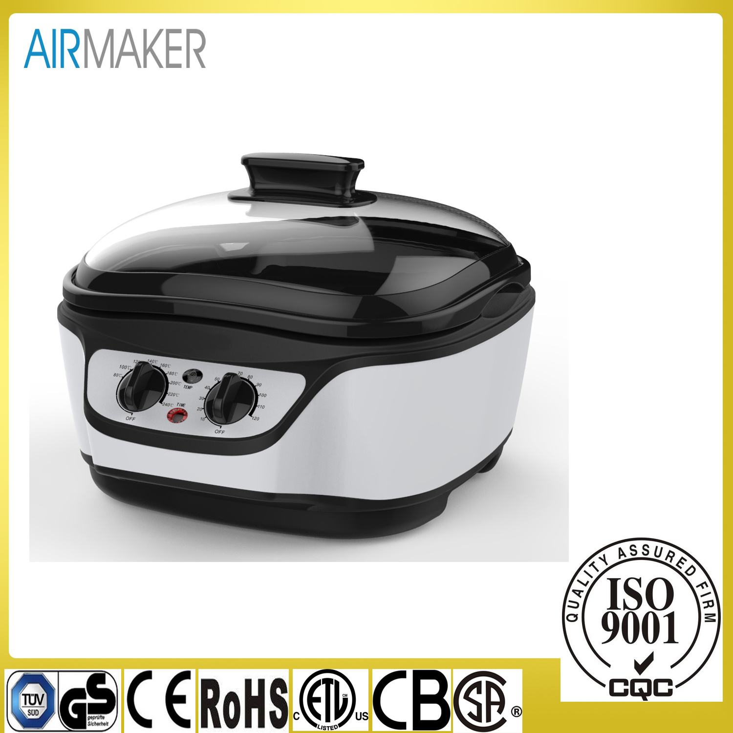 1500W Adjustable Multi Electric Cooker for Kitchen Appliance