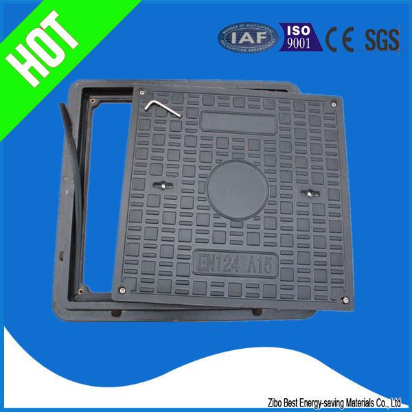 En124 High Quality Composite FRP Material Manhole Cover