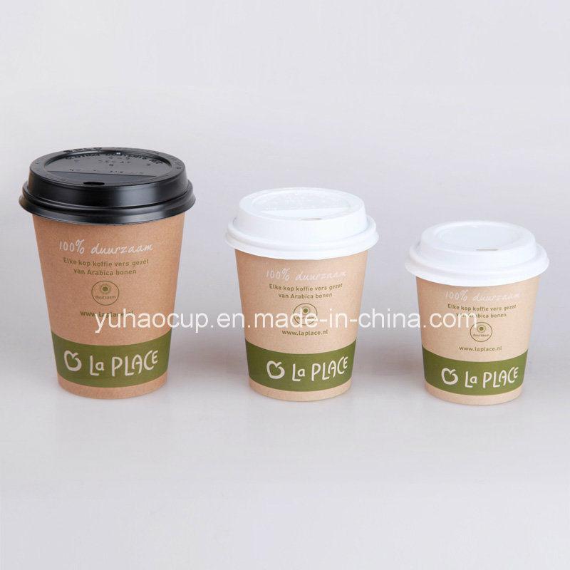 4/6/8oz Brown Kraft Cheap Paper Coffee Cup