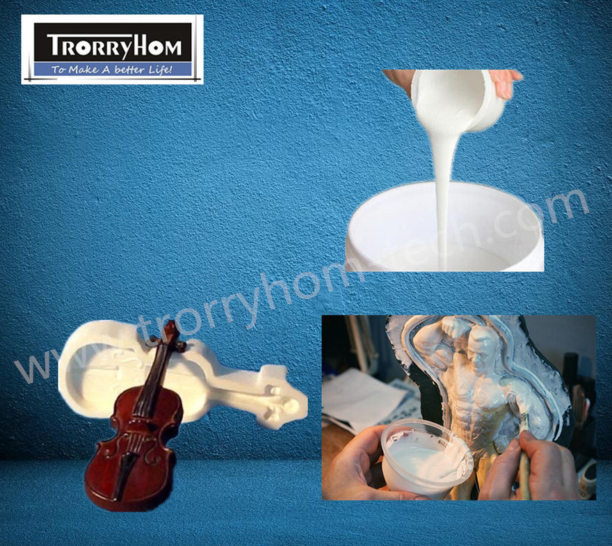 Moldmaking RTV Silicone Rubber for Gypsum Plaster Molds