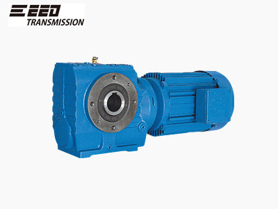 S Helical Worm Gearboxes Hollow Shaft Output