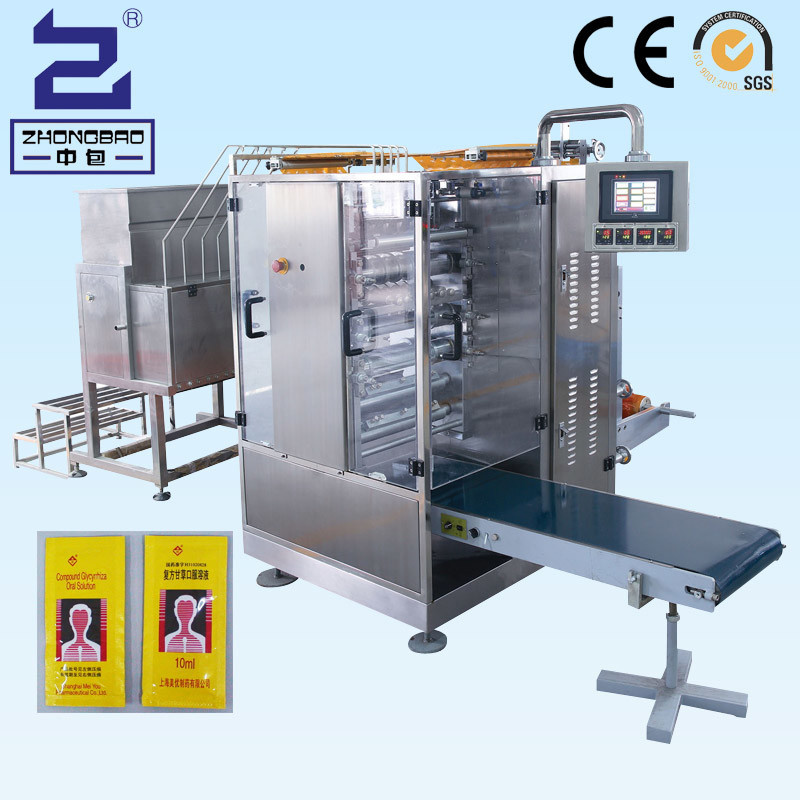 Tomato Paste/Ketchup/Shampoo Multilane Packing Machine (Servo Motor)