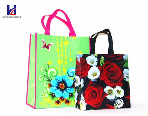 Custom Printing Non-Woven Shopping Bags