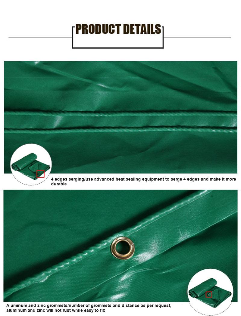 Waterproof Tarp/Tarpaulin Roll Woven Fabric Tent