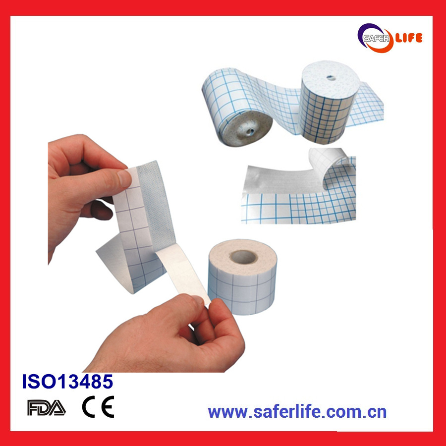 2014 Non Woven Adhesive Dressing Fix Tape Dressing Tape Products Dressing Fixation Fabric Tape Fixing Dressing Products