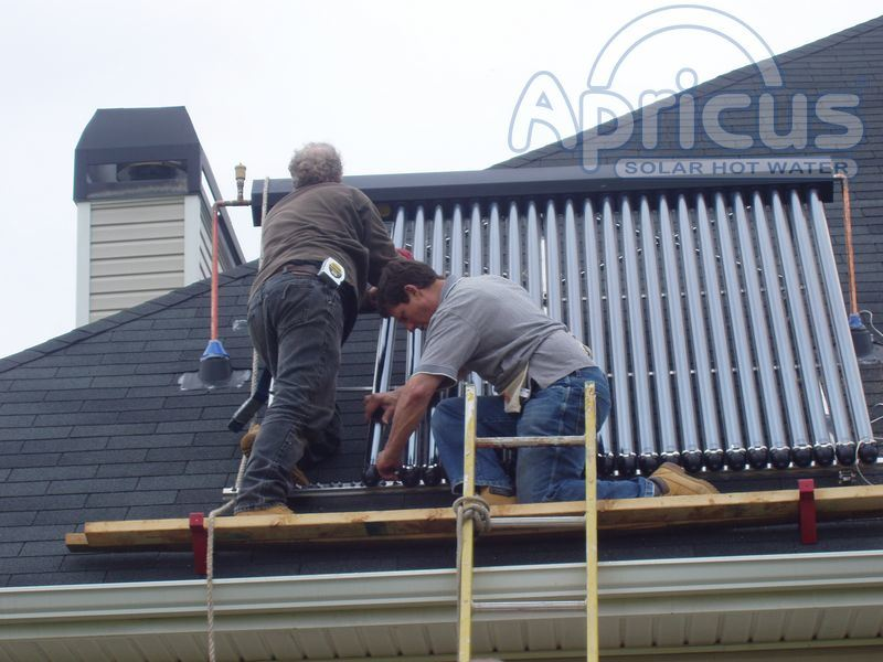 High Quality Internationaly Certified Solar Water Heater