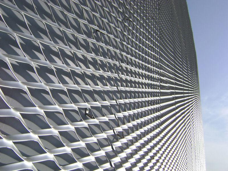 China aluminum expanded metal mesh curtain walls photos