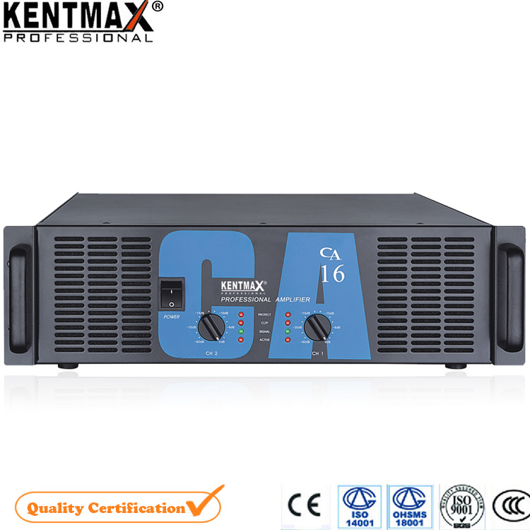 Hot! ! ! 550/800watt Aluminum Panel Stereo Digital Karaoke Amplifier