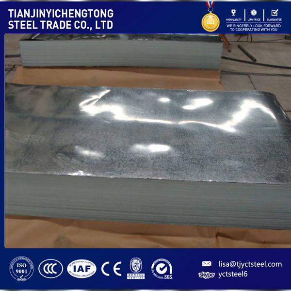 Regular Spangle Hot Dipped Galvanized Steel Plate Gi Plate