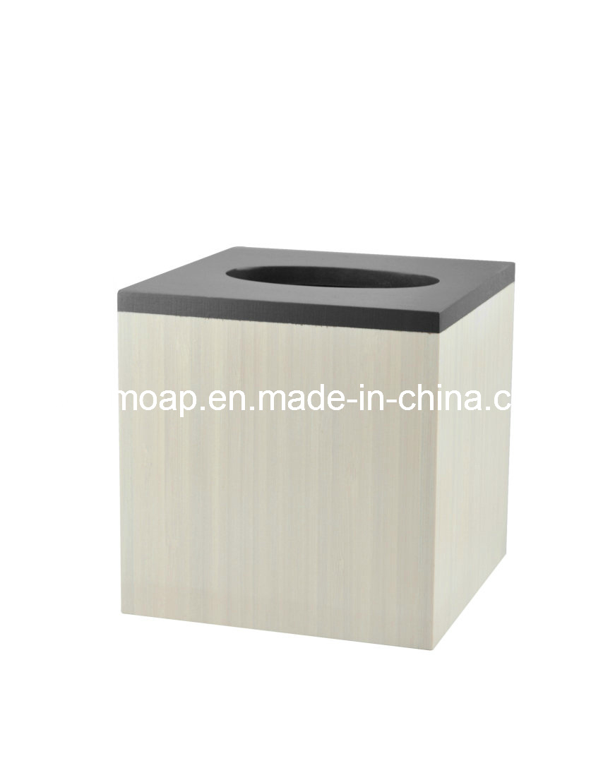 White-Washed Paint Bamboo Bathroom Hardware (WBB0450A)