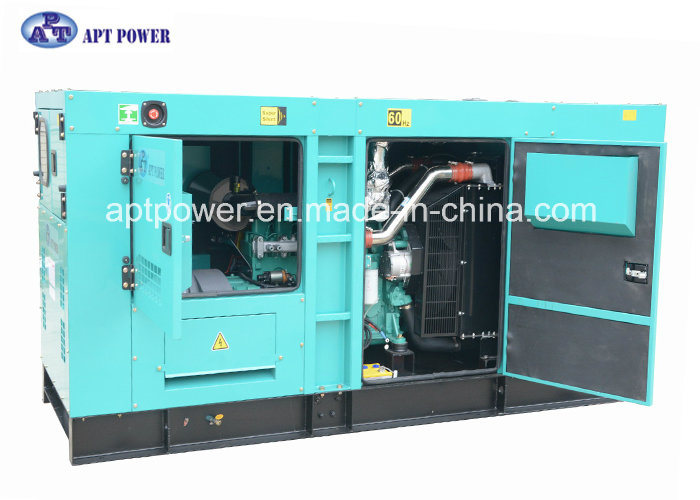 120kw Prime Cummins Powered Diesel Generator with Soundproof and Weatherproof