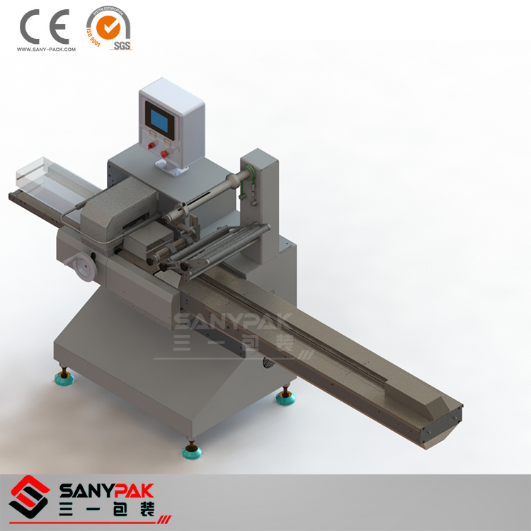 Paper Box/Pallet/Toothbrush Single Servo Pillow Packaging Machine