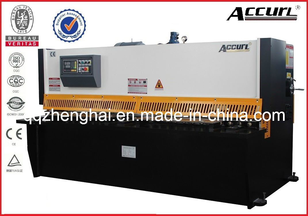 Hydraulic QC12y-10*6000 with CE Certificate Popular in USA and EU Hot Sale Product Shearing Machine