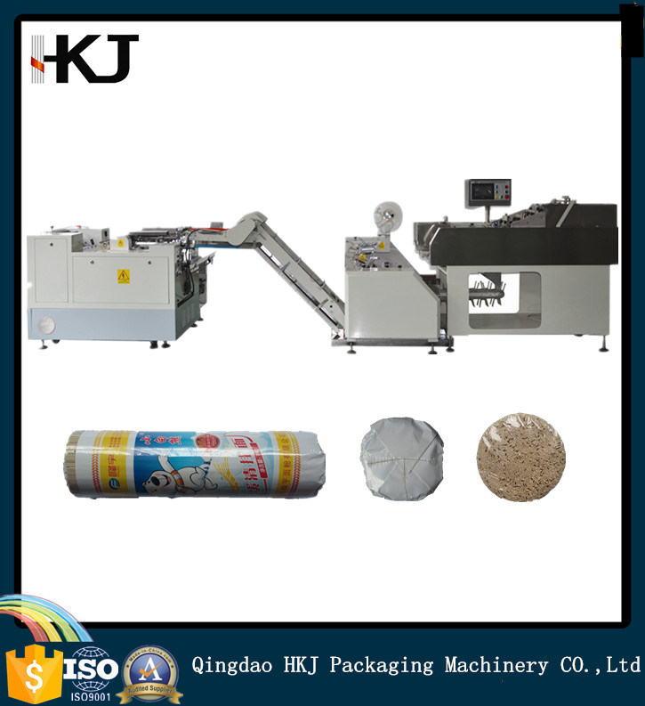 High Density Noodle Spaghetti Packaging Machine with Paper