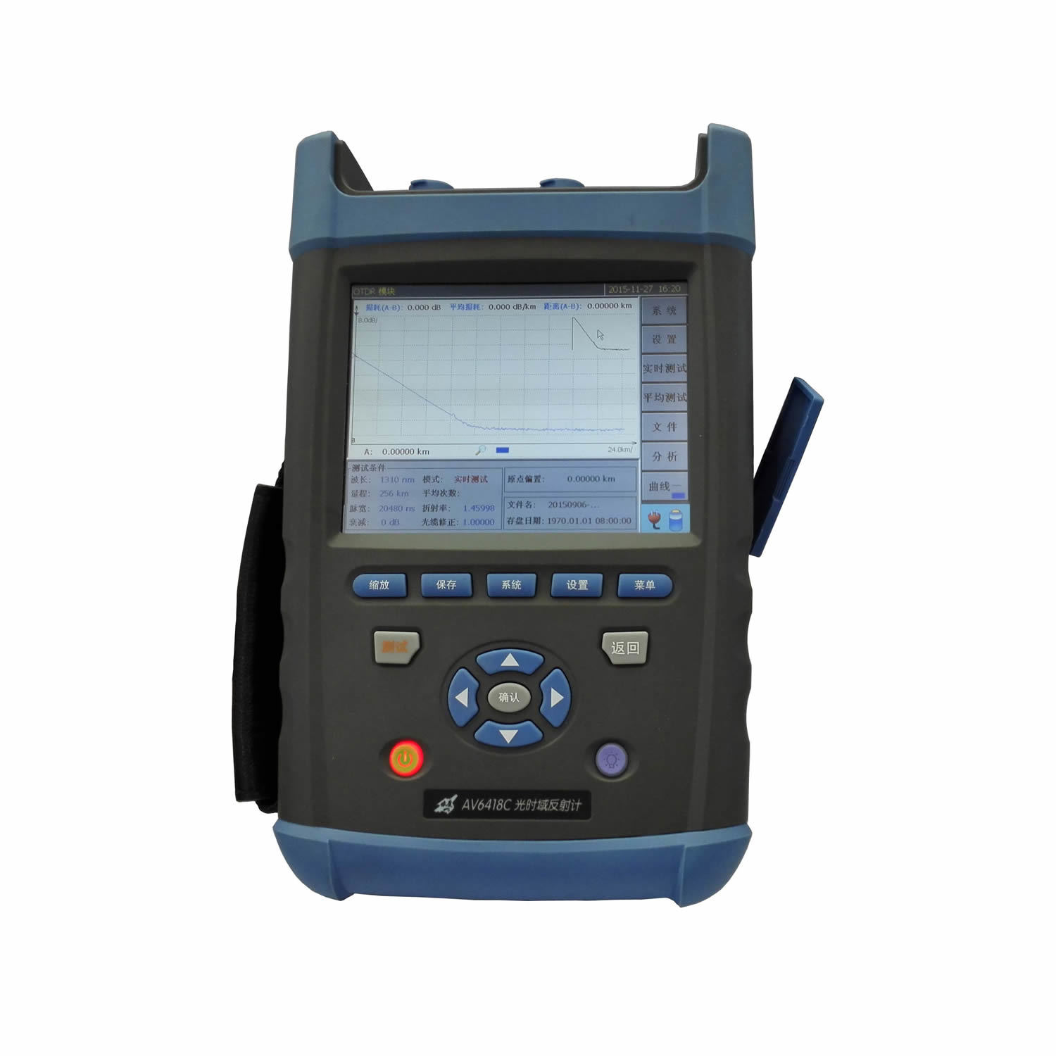 AV6418 High Performance & Multifunction OTDR