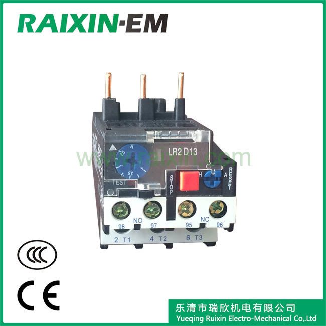 Raixin Lr2-D1301 Thermal Overload Relay Miniature Relay