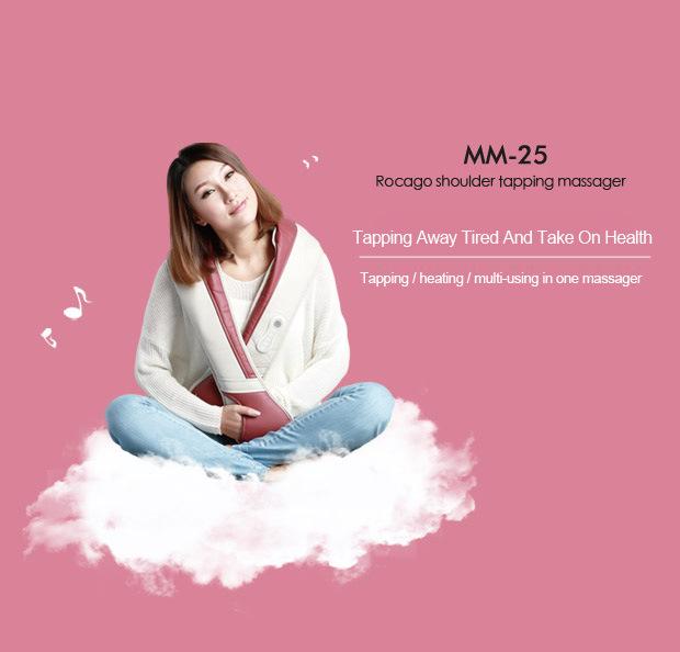 Micro-Computer Control Body Massager Heating Neck Shoulder Massage Belt