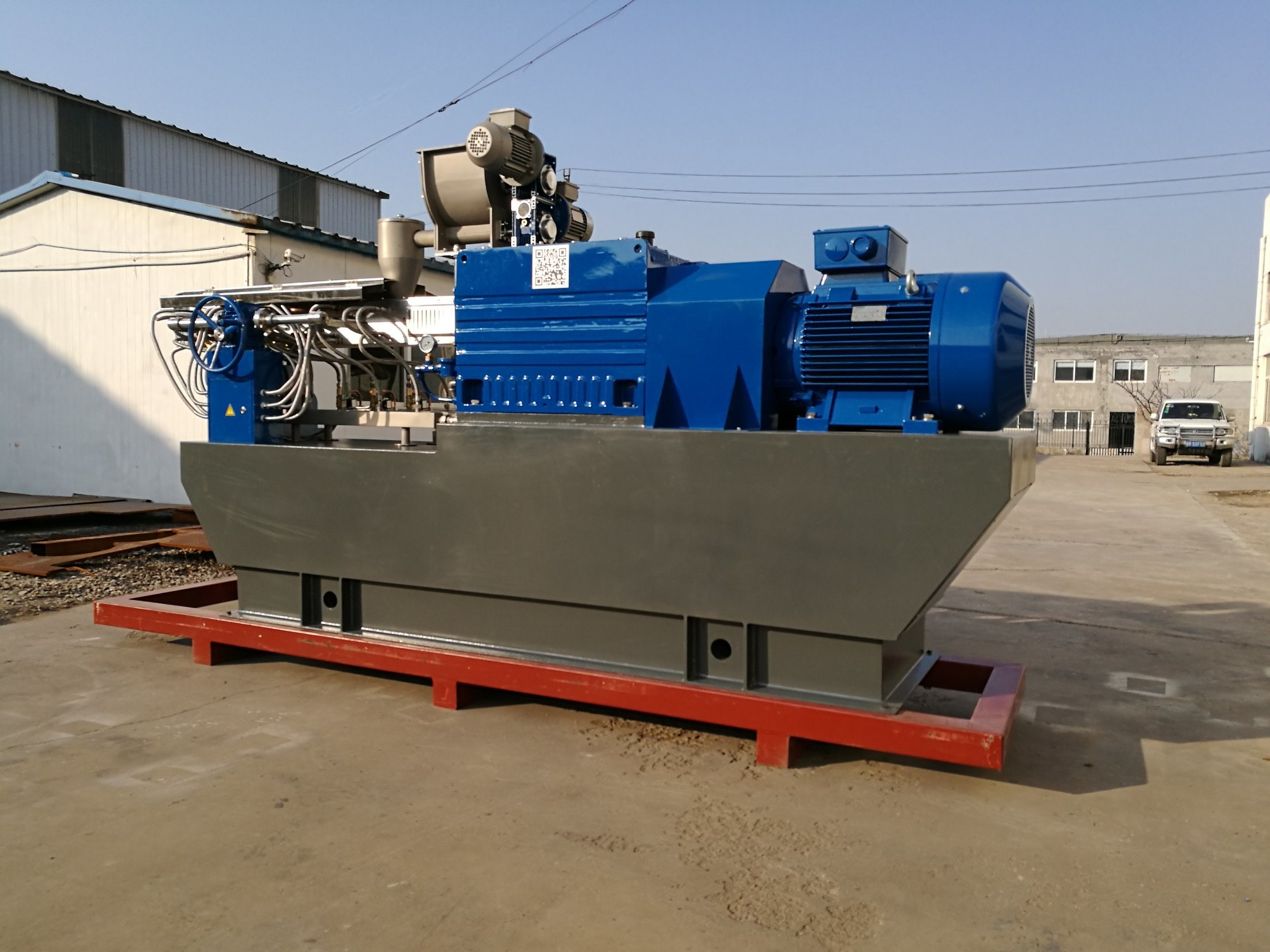 New Style Ce Proved Powder Coating Extruder