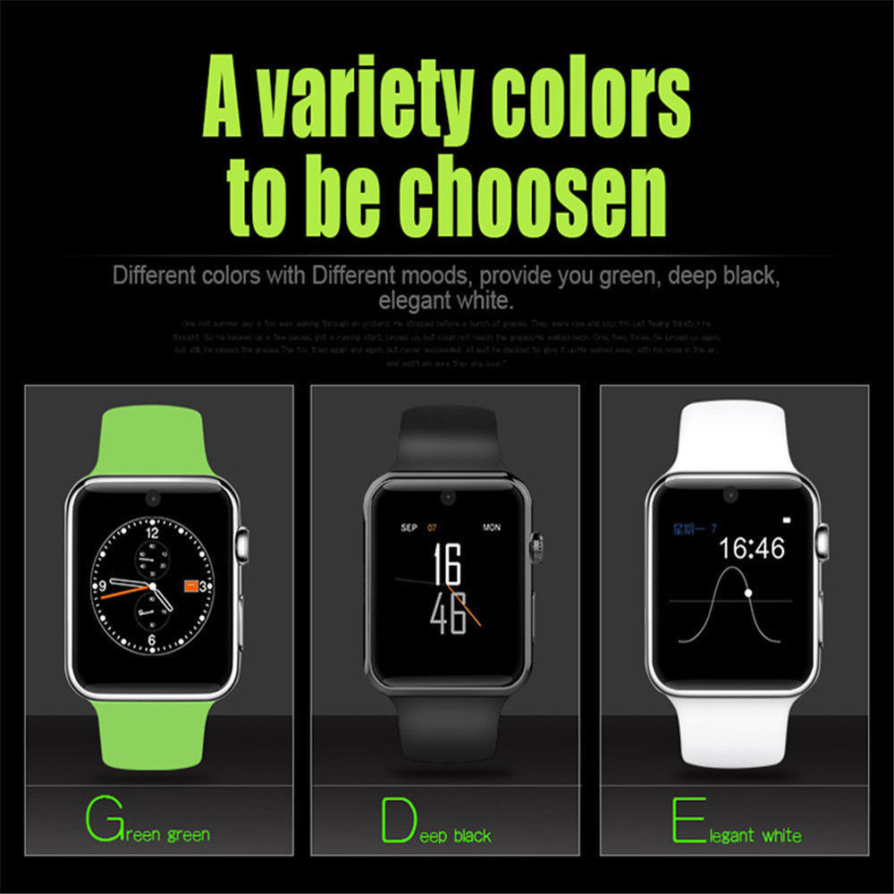 New Dm09 Bt Smart Watch Mtk2502c Hdscreen Simcard Ios Andriod