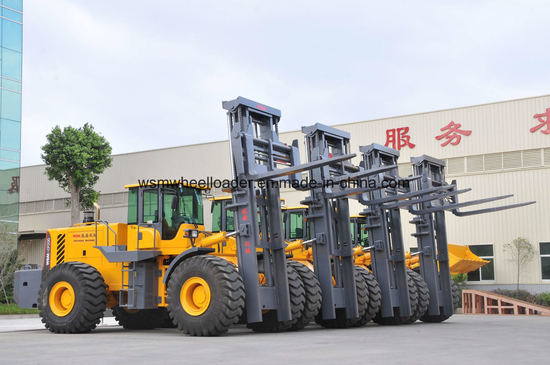 Cpcd200 Forklift Truck