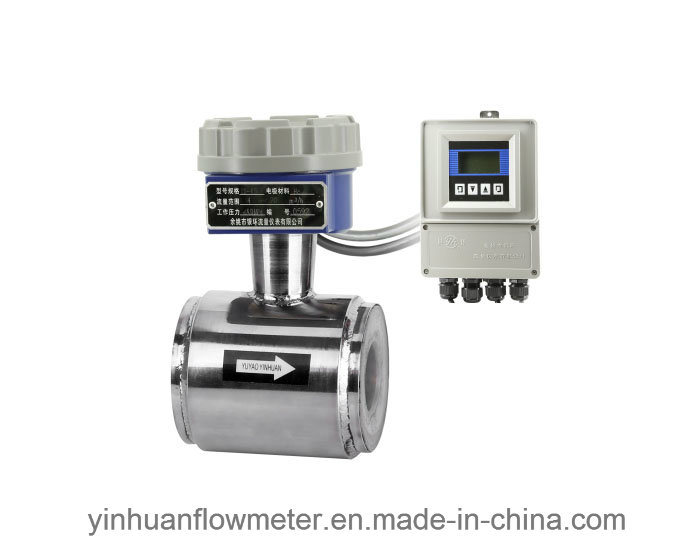 Clamp-on Divided Type Electromagnetic Flowmeter