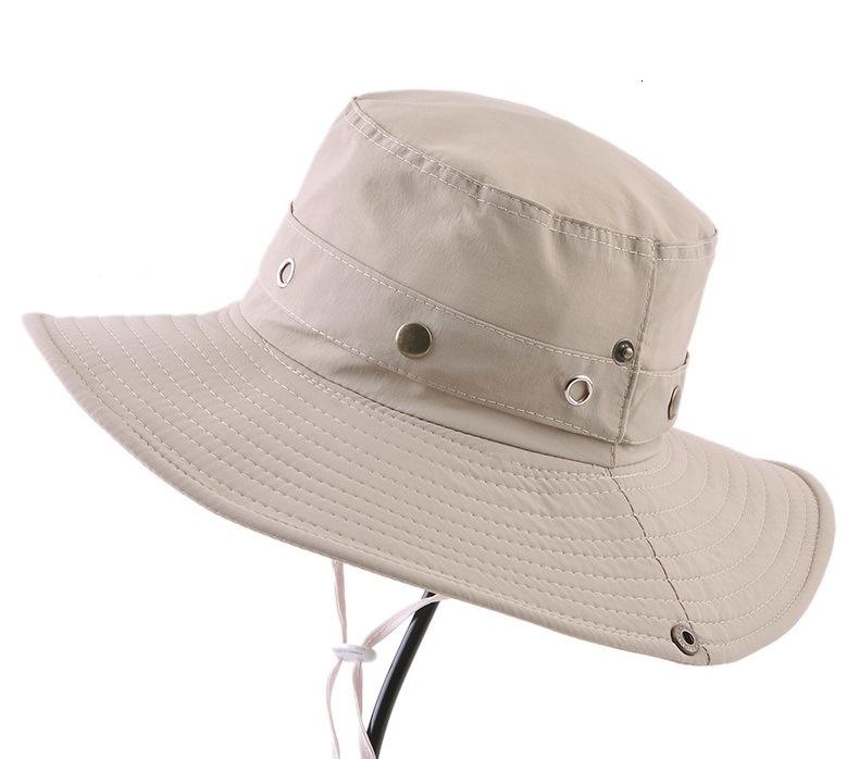 Waterproof Boonie Hat/Custom Bucket Boonie Custom Hat - Beige