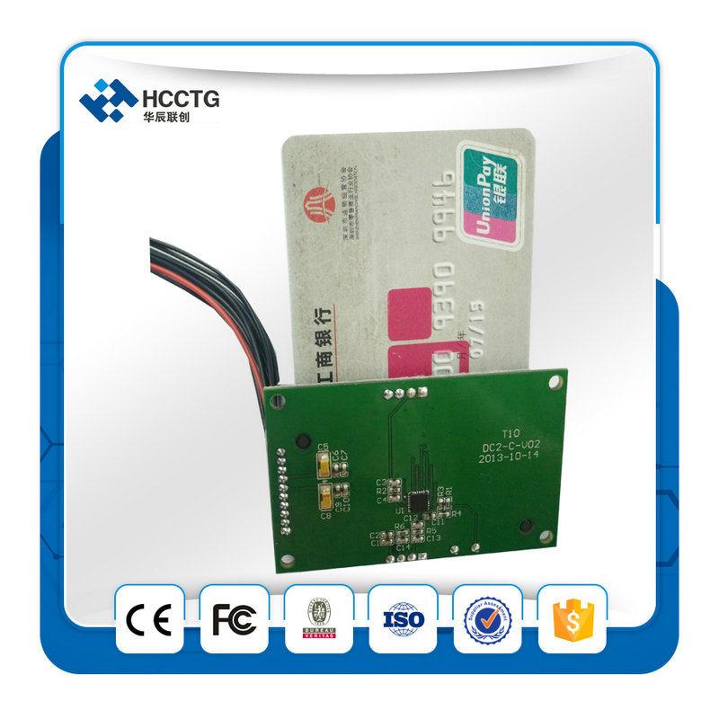 USB RS232 OEM Smart Magnetic Card Kiosk RFID Card Reader Writer Module (HCC-T10-DC3)