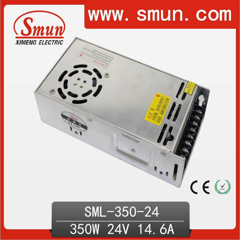 350W 24V14.6A Single Output Switching Power Supply for LED Lighting