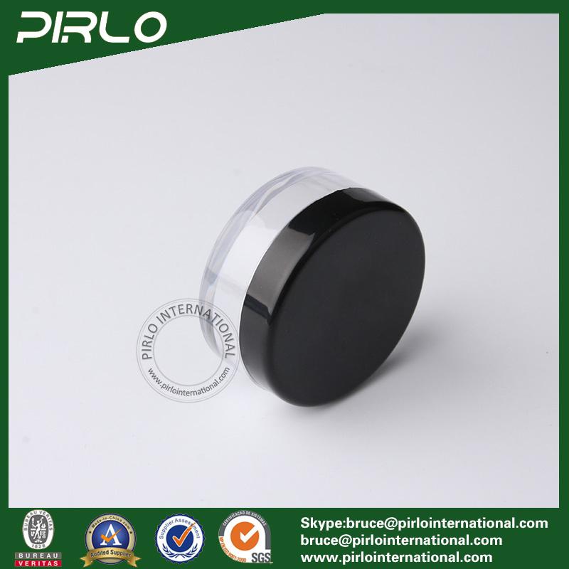 10ml 10g Transparent Plastic Powder Jar with Lid Empty Cosmetic Loose Powder Jar Cheap Loose Powder Plastic Jar with Sifter