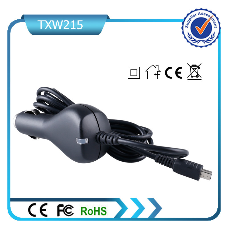 5V 2.1A Dual USB Car Charger for Mobile Phone