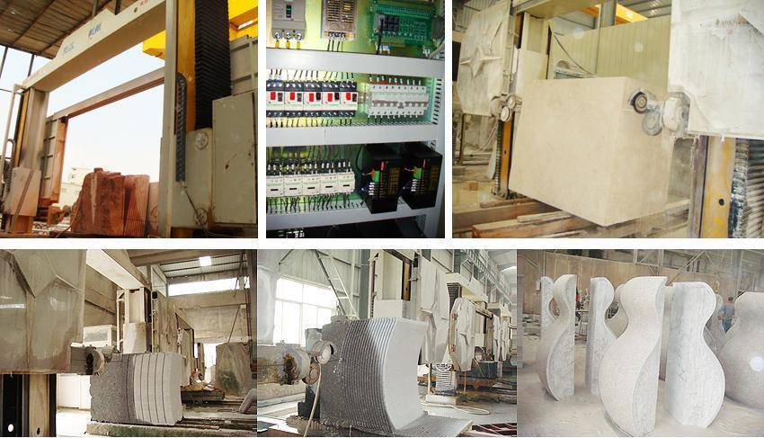 Xianda Ce Ceitificated CNC Marble & Granite Stone Processing Wire Saw Machine