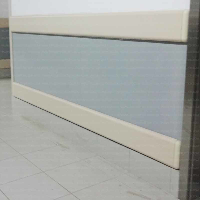Decorative PVC & Aluminum Wall Protection Guard 200mm