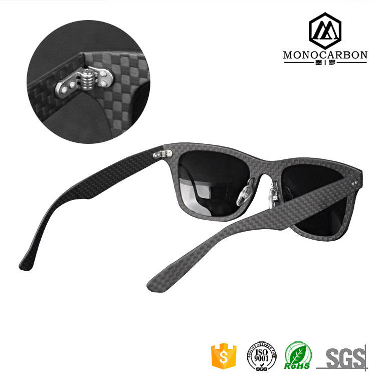 2016 Wholesale Christmas Fashion Gift Carbon Fiber Sunglasses Carbon Glasses Custom Logo