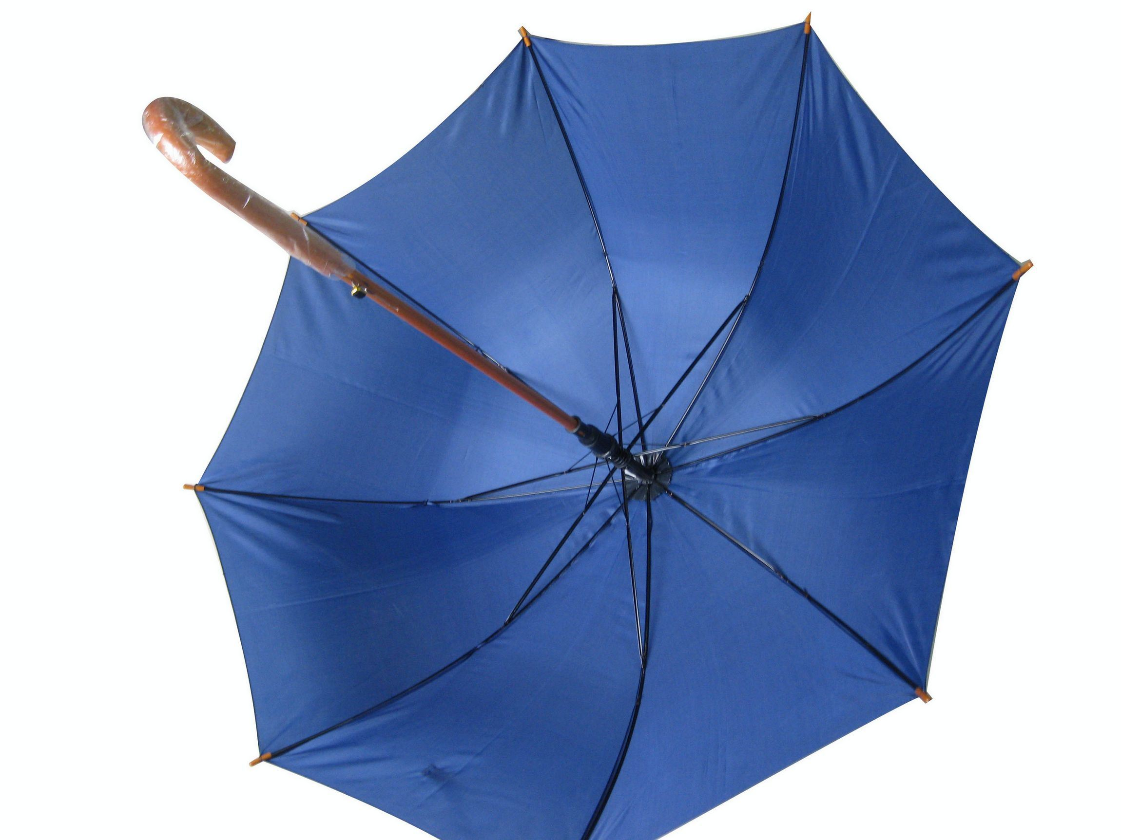 Auto Wood Straight Umbrella Gilf Umbrella (SU022)