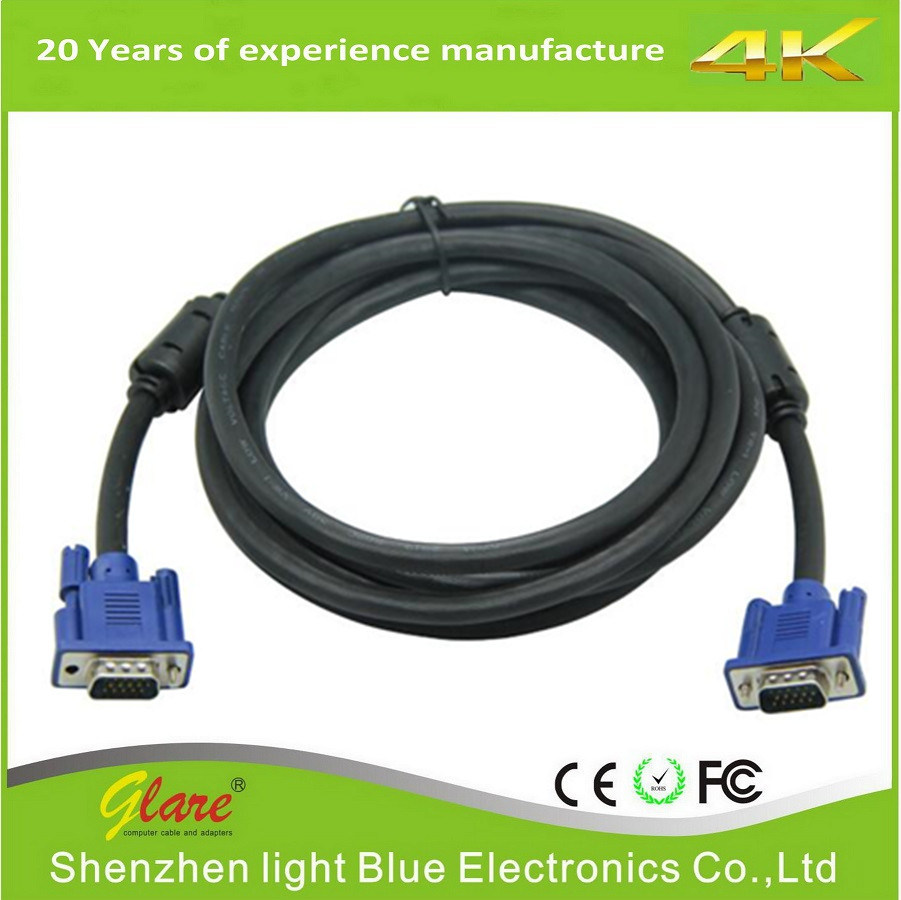 Good Quality Male to Male VGA to VGA Cable