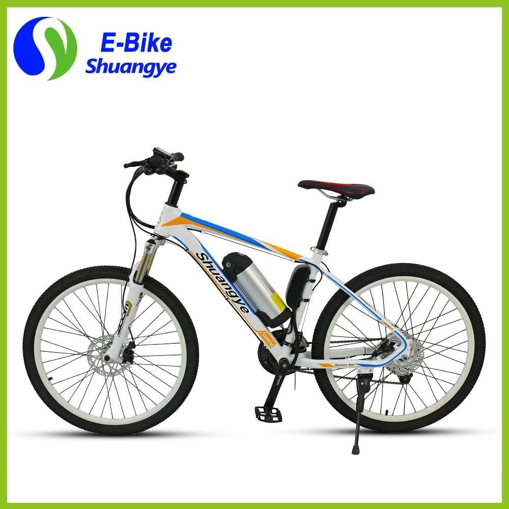 New Design 26 Inch Heterotype Tube Frame Mountain Electric Bike