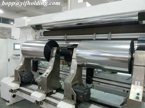 High Brightness Metallized Film for Labels