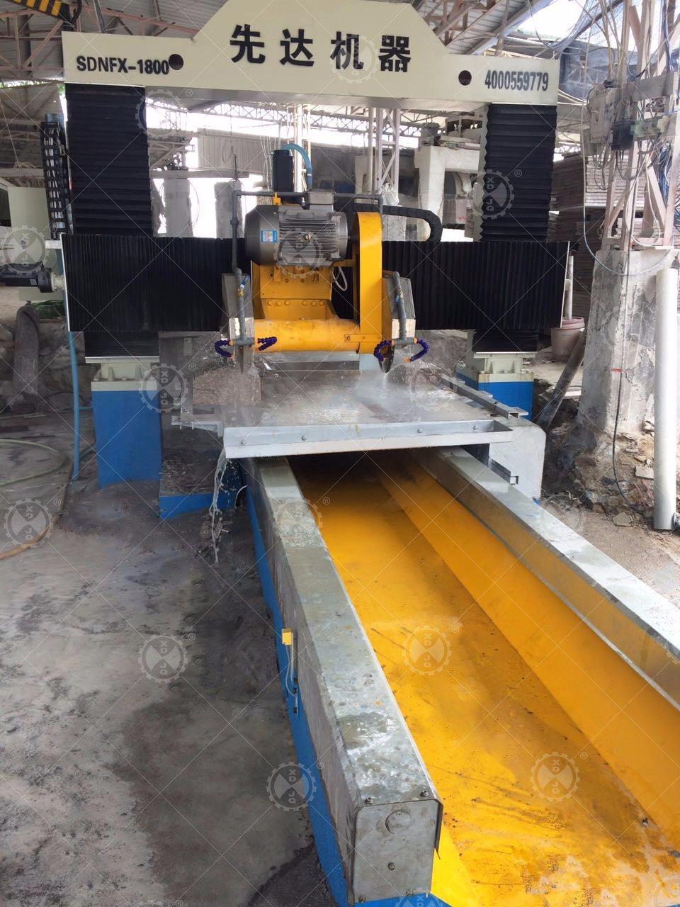 Sdnfx-1800 Gantry Lifting Type Stone Profile Cutting Machine