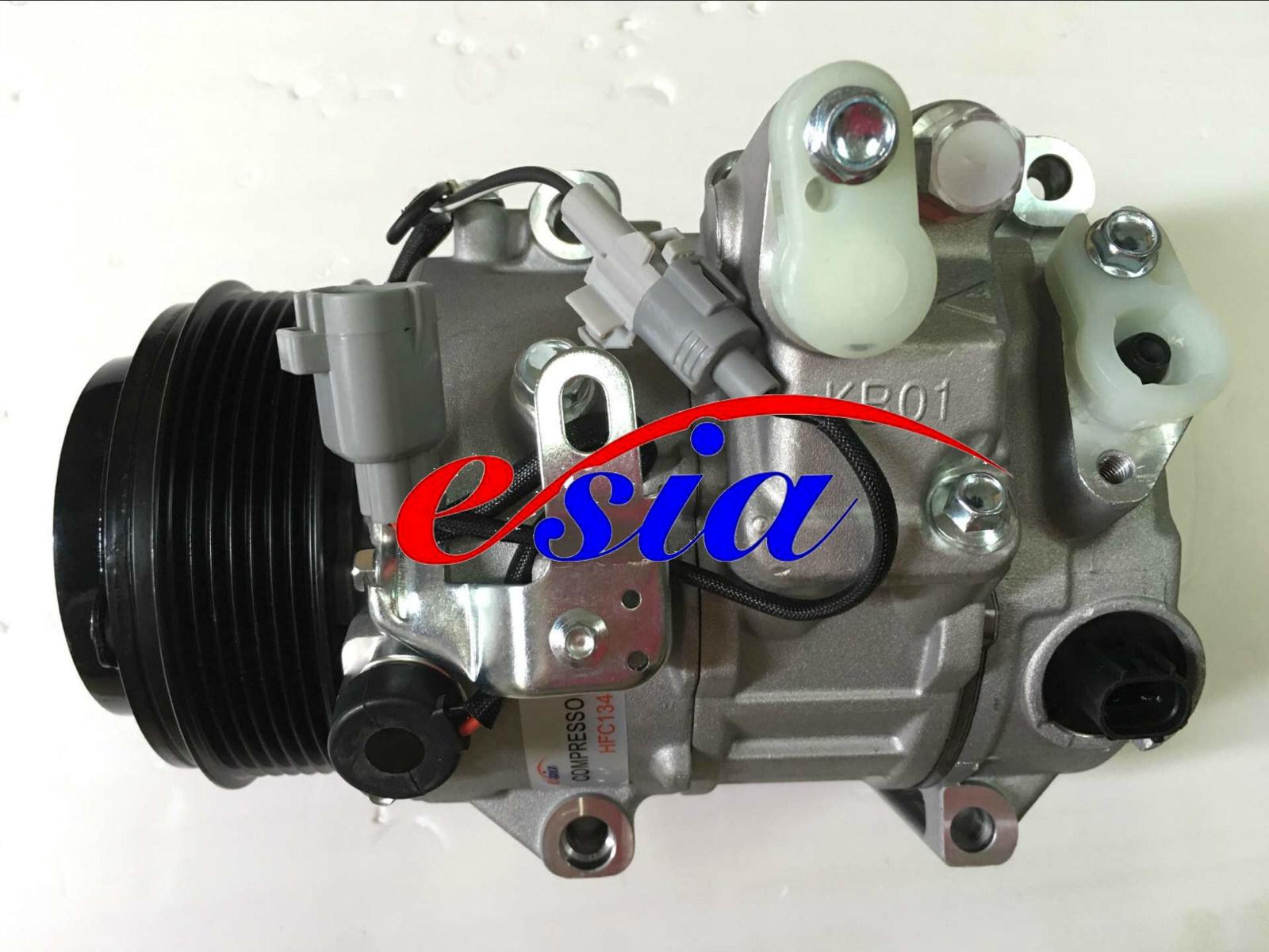 Auto Parts AC Compressor for New Heijingang D-Max Cr12s 1A 125mm