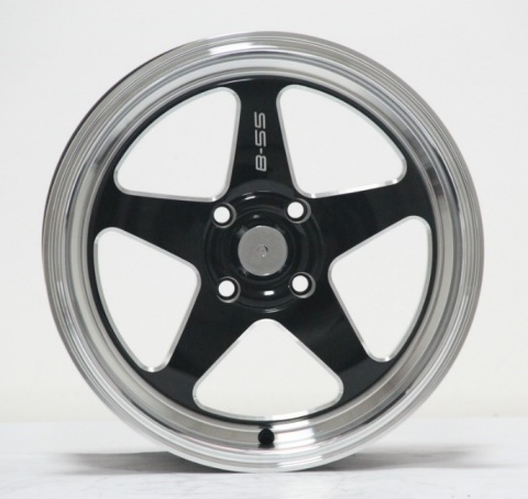 15 Inch/16 Inch Car Aluminum Wheels with PCD 4/5X100-114.3