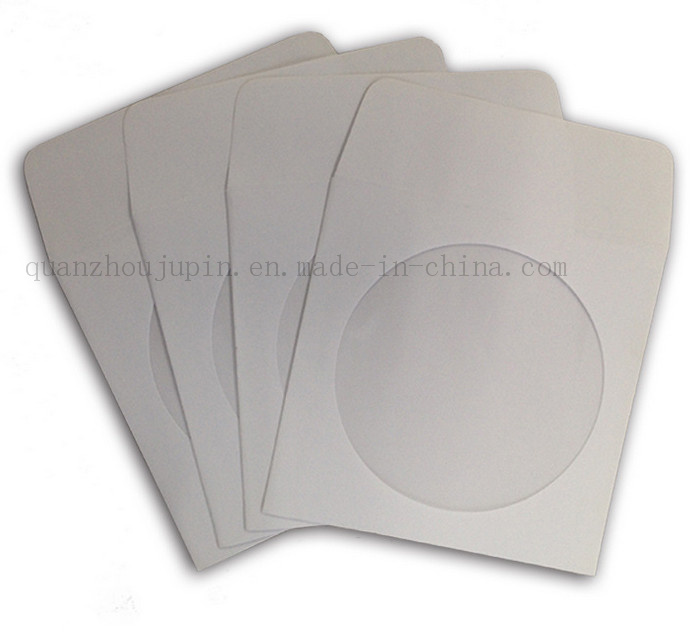 Custom OEM CD DVD VCD Eco-Friendly Paper Bag Sleeve