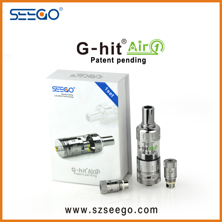 Stainless Steel Seego G-Hit Air1 Vaporizer Tank with Large Capacity for E-Liquid