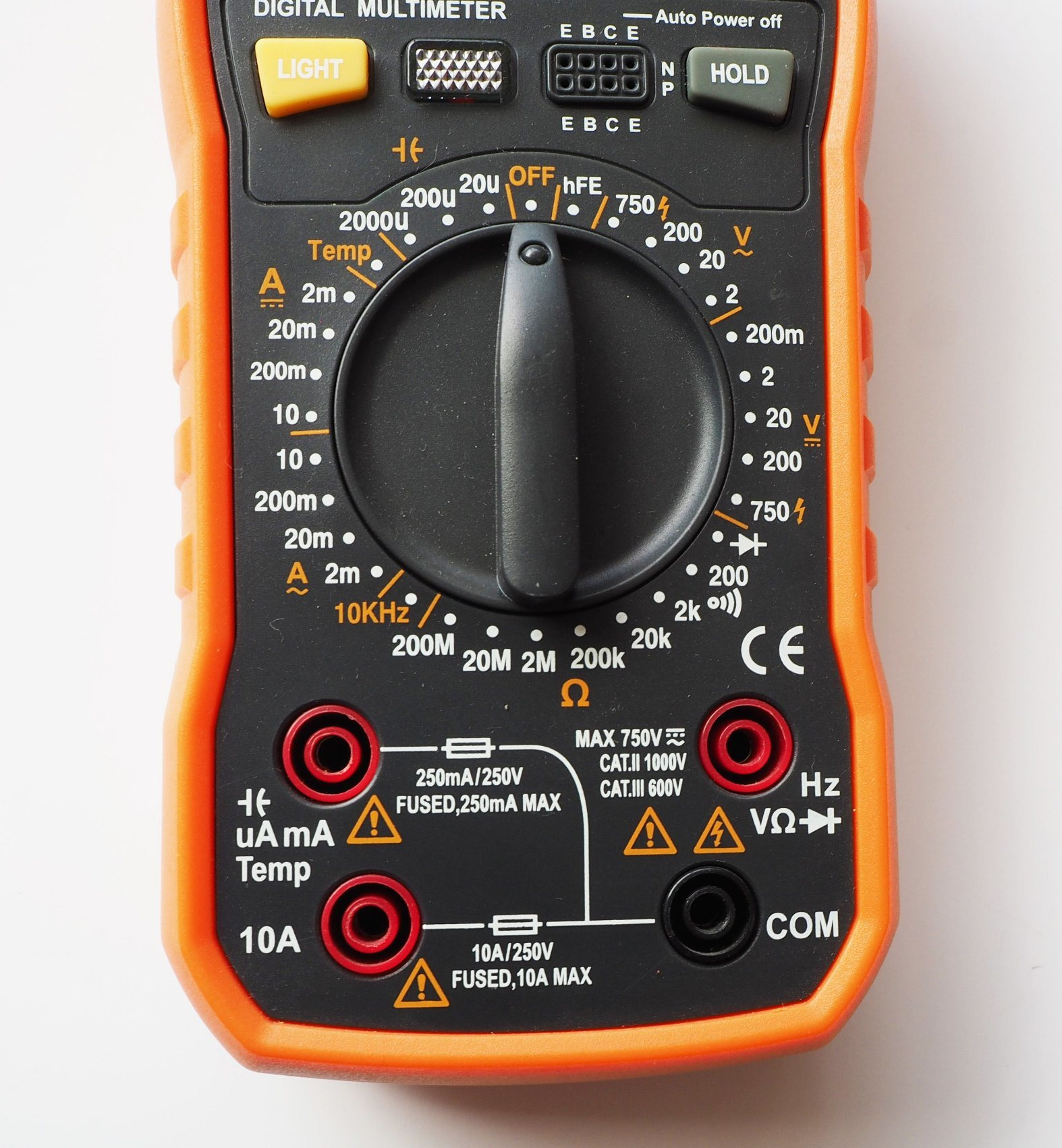 High Quality Electrial Digital Multimeter (KH64) with ISO Certified