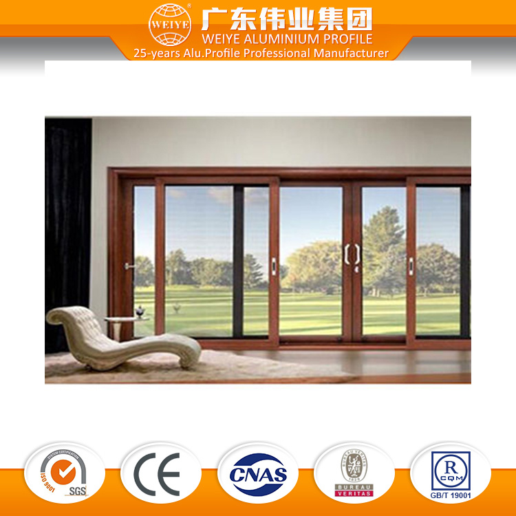 China Top Ten Factory Manufacturer Wtlm125 Series Heavy Sliding Glass Door