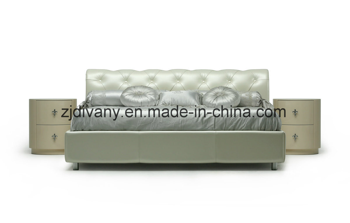 New Classic Style Bed Furniture (LS-418)