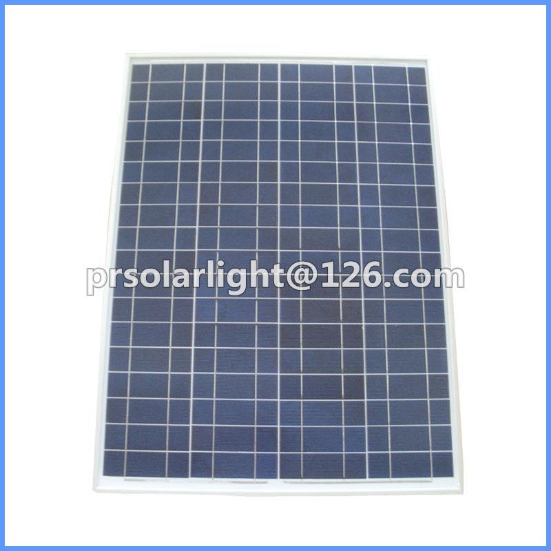 80W High Efficiency Poly Renewable Energy Saving Photovoltaic Module