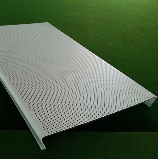 Aluminum C-Shaped Strip Ceiling for Interior Decoration